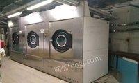 柳州出售洗水设备、干洗设备、锅炉、干衣机
