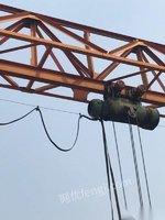 供应一台19.5米无外玄全花架10吨龙门吊,