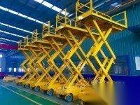处理旧剪叉式升降机货梯货梯固定式货梯车载式货梯固定式升降