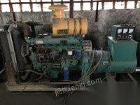 处理库存一台120KW潍坊柴油发电机组九成新发电机组