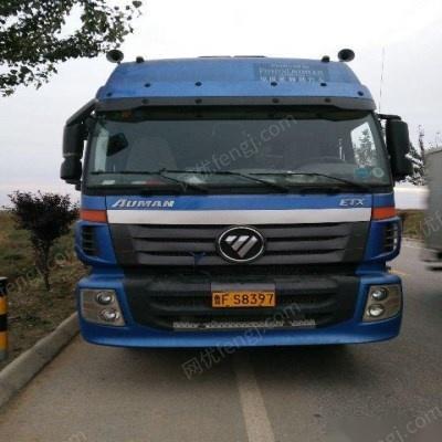 2013年9月欧曼9米6前四后八高栏车-山东二手货车求购图片信息 山东
