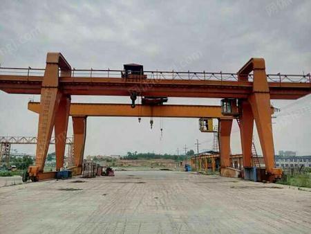 京津冀地区求购32吨双主梁龙门吊4台跨度20-24米