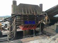 长期高价求购浙江附近250吨以上硫化机