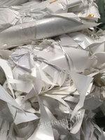 广东地区收购pet双层带胶膜,纯pet膜,奶白膜