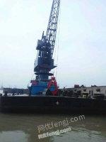 求购100吨浮吊船