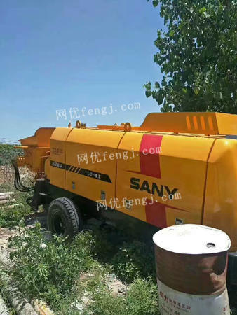 各种型号混凝土拖泵求租