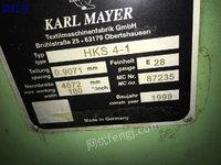 出售1999HKS4-1 180 28E经编机