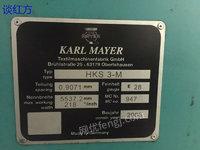出售2006年HKS3-M 218 28E经编机