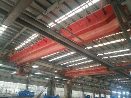 位低价处理双梁桥式天车行车 16/3.2吨跨度28.5米 2台