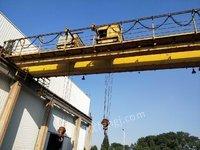 低价出售QE双梁天车 行车 10+10吨 跨度22.5米