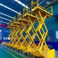 菏泽升降机铝合金升降平台导轨式货梯液压升降机