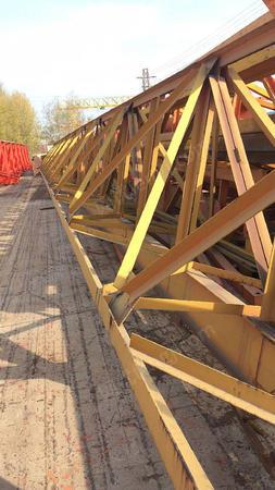 出售二手5吨跨度30米,升高9米花架龙门吊
