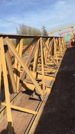出售二手花架龙门吊10吨,跨度14米外悬各3米,升高9米