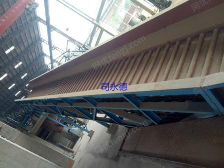 出售全新的没有使用过的浙江平湖生产的1.4m*26的链板输送机台,配套18.5K