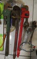 台钻、电钻、电锤、抓子、大管钳、活扳手、电动提升机