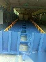 出售二手简易电梯升降机升降平台固定式升降机导轨式货梯