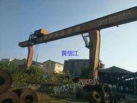 出售L型20/5T跨度30米外悬各9米2台在位新行车未用上海