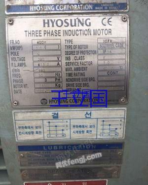 出售二手电动机韩国进口三台