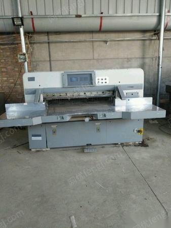 急售紫光胶订机三面刀920利通切纸机,1300国望切纸机