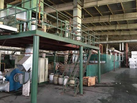 出售二手涤纶短纤生产线