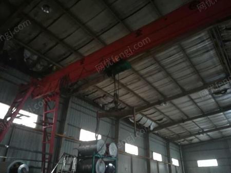 出售二手5吨龙门吊跨度19米高度6米
