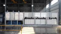 公司出售重16吨制冰机、11千瓦碎冰机、面积约30平米速冻库、急冻最低温度-25度制冷设备整套及工厂操作台