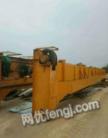 Selling Used Traveling Crane Sets 16T Span 19.5m DeliveryYantai