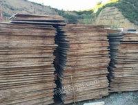 长期回收废竹胶板