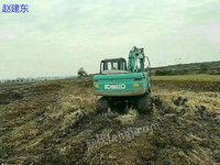出售2011年神钢130超八挖掘机