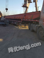 Selling Used Electrical Single-beam Crane 5t-17.8m 18.1m