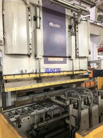 出售日本村田450吨数控折弯机