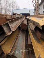 大量回收工字钢架子管