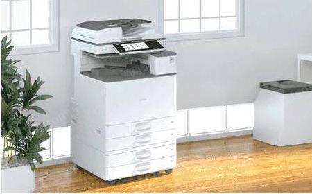 出租昆山打印机 理光2011sp黑白打印机