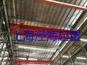 出售二手QD双梁行车10T-25.5米