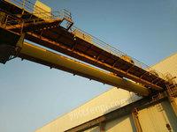 低价出售桥式双梁10+10吨 跨度22.5米行车天车