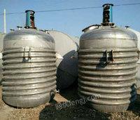 出售闲置不锈钢电加热反应釜