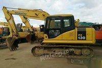 出售闲置小松130-7挖机