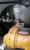 处理库存二手燃气热水炉常压出水2吨