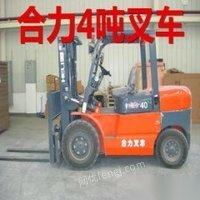 湘潭个人转让二手柴油三吨合力杭州叉车