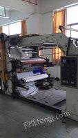 求购6色1.2米宽叠式柔印机2台 要成色好的