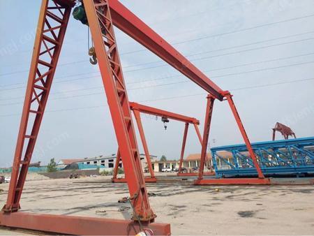 转卖二手3-32吨龙门吊 单梁 双梁 配件