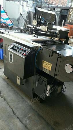 低价处理一台2012年金昆450全自动卷对卷丝印机