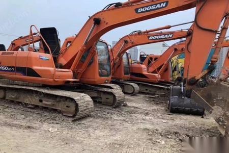 黔东南出售斗山150二手挖机原版原样