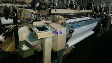 出售2002年苏尔寿G6300-240剑杆织机带2668多臂16台