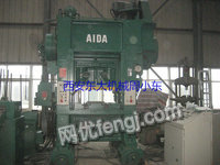 出售日本AIDA125吨龙门高速冲床(配有送料机)