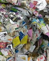 回收大量铝复合膜