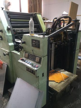 纸品包装厂处理650樱井单色胶印机1台(还有1台580的一起卖10万)