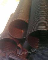 大量收购聚乙稀钢带增强波纹管废料