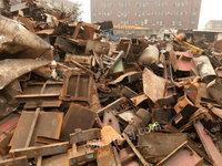 汽车拆解下来的废钢全国大量回收