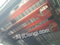 山东高价回收二手10吨桥式双粱行车
